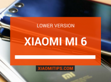 Xiaomi Mi 6 Lower Version