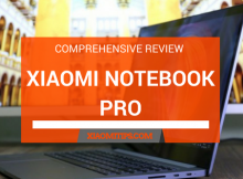 Xiaomi Notebook Pro Review